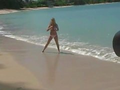 Alison Angel - Beach Shoot