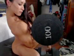 Denise On Webcam 3-03-2015