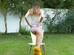 Ivana gençbahçesinde ıslak