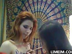Redhead esmer lezbiyen kızlar