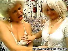 Sexy Babes Les plus âgés de lingeries