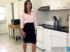 PropertySex Big Ass Babe Fucks Boss To Keep Job