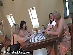 Four slutty fat big tits wife love part1