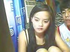 Di Katherine di Franco di Luogo Filippine Manila Concetto scopa il ragazzo vicino