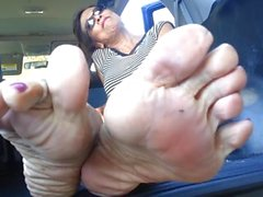 Smelly Mature Feet