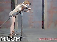 caged up beauty needs punishment video