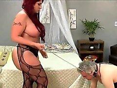 Sexy gf rough anal
