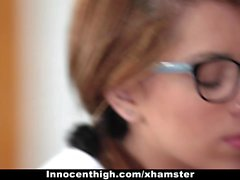 InnocentHigh - Pigtailed Schoolgirl Banged By Her Classmate