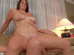 Brunette babe Alison Tyler gets fucked