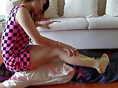 CHinese mistress foot fetish