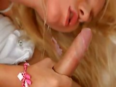 blond girl with pierced clit fucking