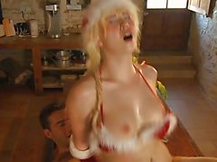 french santa's wife fucking