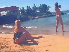 Fun at the de plage
