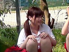 Kinky asian fingers teen