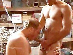 Bareback Action with Antonio Biaggi!