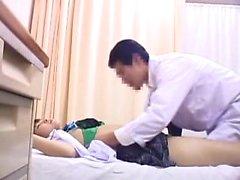 Petite Asian schoolgirl has a kinky doctor plowing her wet
