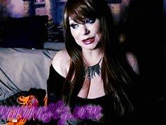 Busty Samantha 38g Jan elää nokka näyttää minun jäsenille osa 1