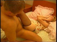 Menina do russo do sono