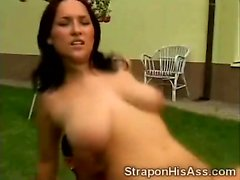 Juggy tongues bfs ass and got her little pussy smashed