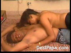 Naughty Indian Couple Hot Bedroom Fucking