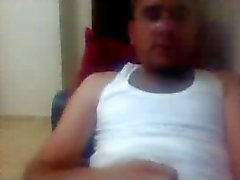 various straight guys feet on webcam