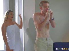 Danny smelling Asshs panties