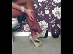 juicy wife nylon legs