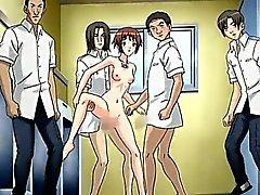 Tonårs Hentai Porn bruden att gå sgangbanged