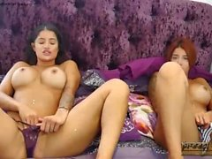 Preeti and Priya Indian twins strip to show tan lines and pussy