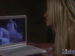Hänförande milsvid Jenna Presleys har hennes fitta bultat