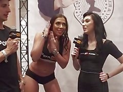 Vitaly ZD al AVN il 2016 Rachel Starr Nikki e cavalleresca le interviste