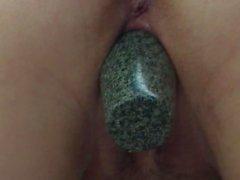 Milf big toy insertion