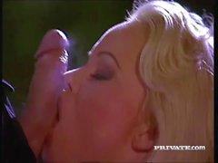 Av den fantastiska Silvia Saint är dränkt inom Sperma