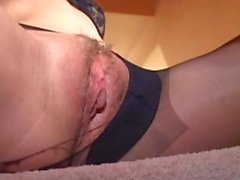 Sweet Nicole fucked by old man