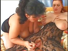 chubby mature lesbian with fat girl