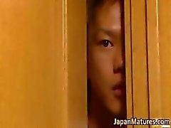 Misa Yuki verdadera atractiva asian mamá Parte5