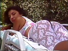Black hair honey gets ass fucked outside