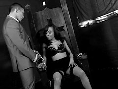 Sexy slut enjoys some kinky pleasures