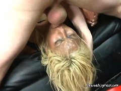 Secretary Desiree Lopez Gets Face Fucked By Her Hung Boss