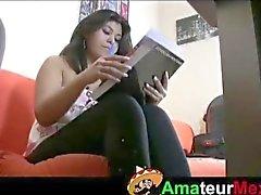 Fundição de Menina mexicana peituda