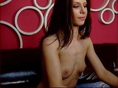 Webcam girl naked flex her strong biceps