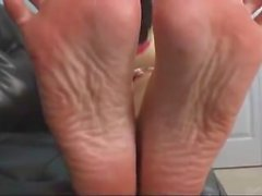 Alexis Grace Big Feet in your Face