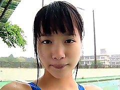 softcore asiatischen Badesachen und Bikini