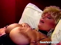 Retro Blonde With HUGE Melons