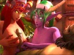 Värld Warcraft Porn kompilering