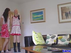 English mature couple fuck teen babe