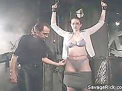 Nasty brünett Catherine ist sex slave part5