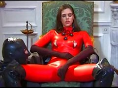 Red Latex Mistress BVR