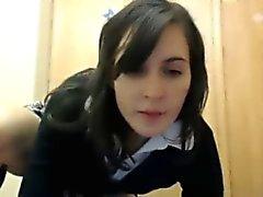 Adolescente caliente School Chica En Webcam en 9 de