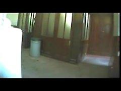 Spycam.bus stop mensroom